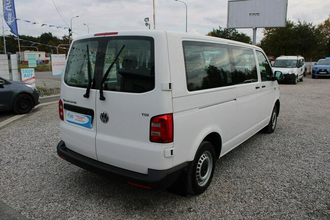 Volkswagen Transporter F-Vat,Gwarancja,Salon Polska,9-osób,LONG Warszawa - zdjęcie 3