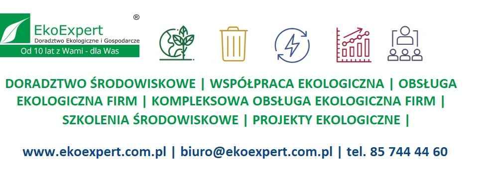 SZKOLENIA EKOLOGICZNE DOFINANSOWANIA UNIJNE ROZLICZENIA EKOEXPERT Białystok - zdjęcie 1