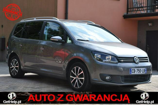 Volkswagen Touran 1,6TDI Nawi  Alum Gwarancja Zabrze - zdjęcie 1