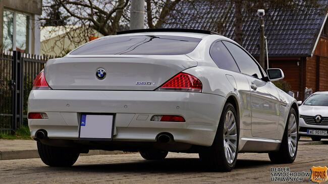 BMW 650 Japonia - Individual - Niski przebieg - Gwarancja Raty Zamiana Gdynia - zdjęcie 3