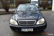 Mercedes W220  320 CDI - SALON POLSKA, KLIMA,XENNON,SKÓRY, NAVI Nowy Sącz - zdjęcie 2