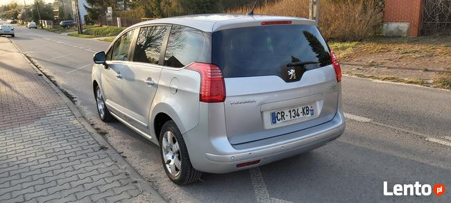Peugeot 5008 1,6 e-HDI 112KM 2013r zarejestrowany Skarżysko-Kamienna - zdjęcie 4