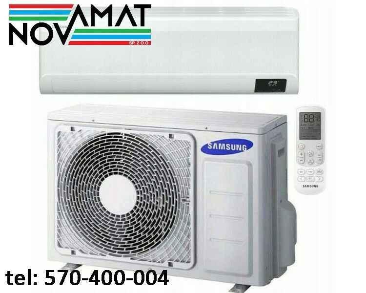 KLIMATYZACJA SAMSUNG CEBU O MOCY 3,5 kW / 3,5 kW KLIMATYZATOR ŚCIENNY Fabryczna - zdjęcie 1