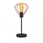 Lampa Nocna SEMPLIKA Volta Light Factory LOFT LED czarna Częstochowa - zdjęcie 3