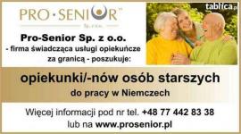Praca w opiece nad osobami starszymi w Niemczech Opole - zdjęcie 1
