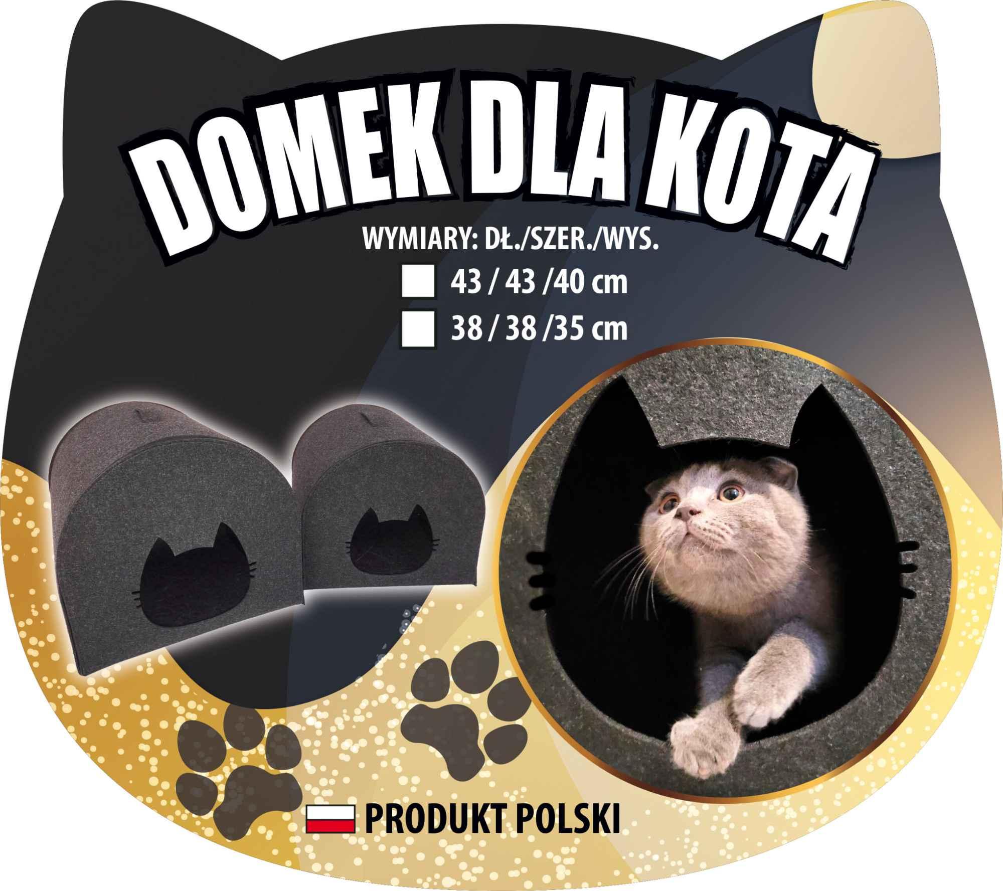Domek dla kota 38x38x35 Ostrowiec Świętokrzyski - zdjęcie 9